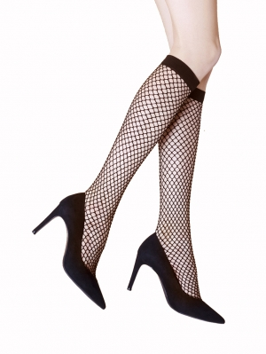 Rock Fishnet Kneehigh