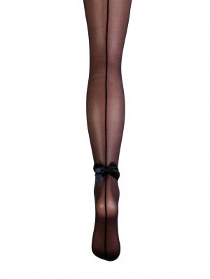 Tulle Bow Tights