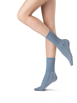 Abstract Knit Socks