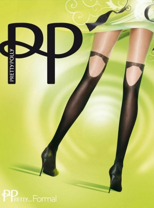Formal Mock Hold-Up Tights