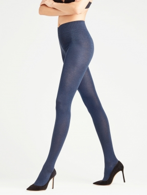 Glossy Women Lurex Tight