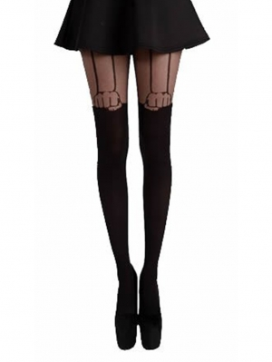 Hand Suspender Tights