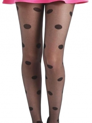 Big All Over Spot Tights