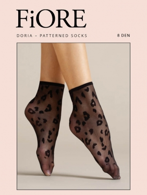 Doria Patterned Socks