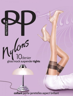 Pretty Nylons Gloss Suspender - Panty