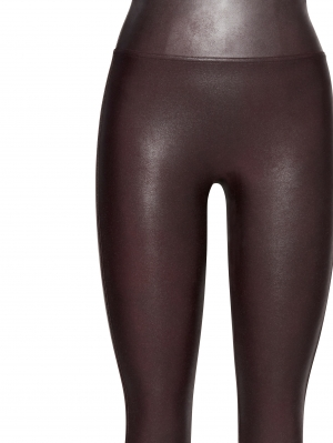 Ready-to-Wow Faux Leather Leggings